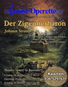 Poster Zigeunerbaron